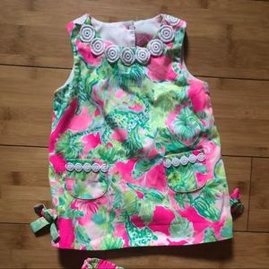 Lilly Pulitzer 6-12 month infant shift dress